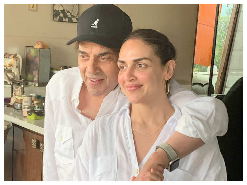 Father's Day 2021! Esha Deol on father Dharmendra: He is everyone's hero but for us, he is our 'He-Man!'