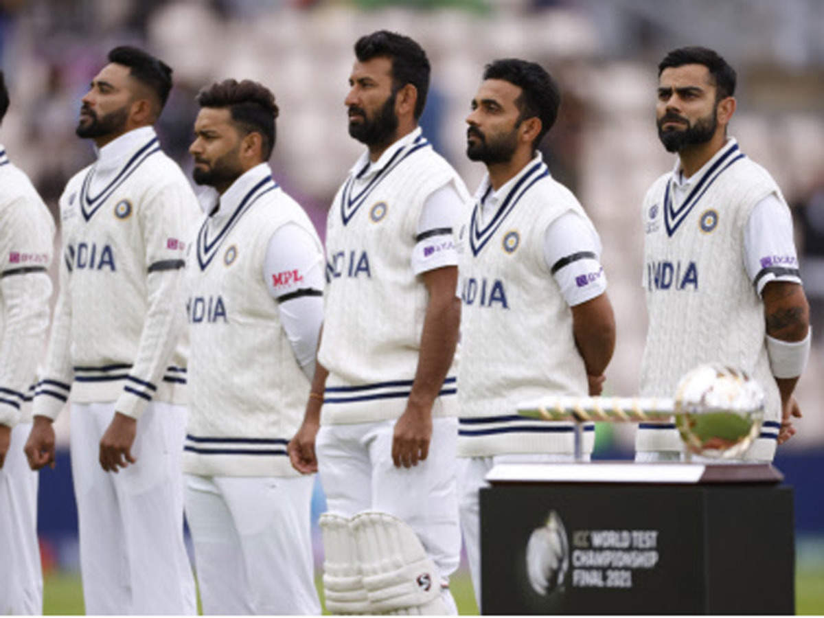 Indian players wear black armbands in memory of Milkha Singh | Cricket News  - Times of India