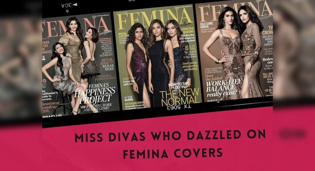 Miss Divas who dazzled on FEMINA covers – BeautyPageants