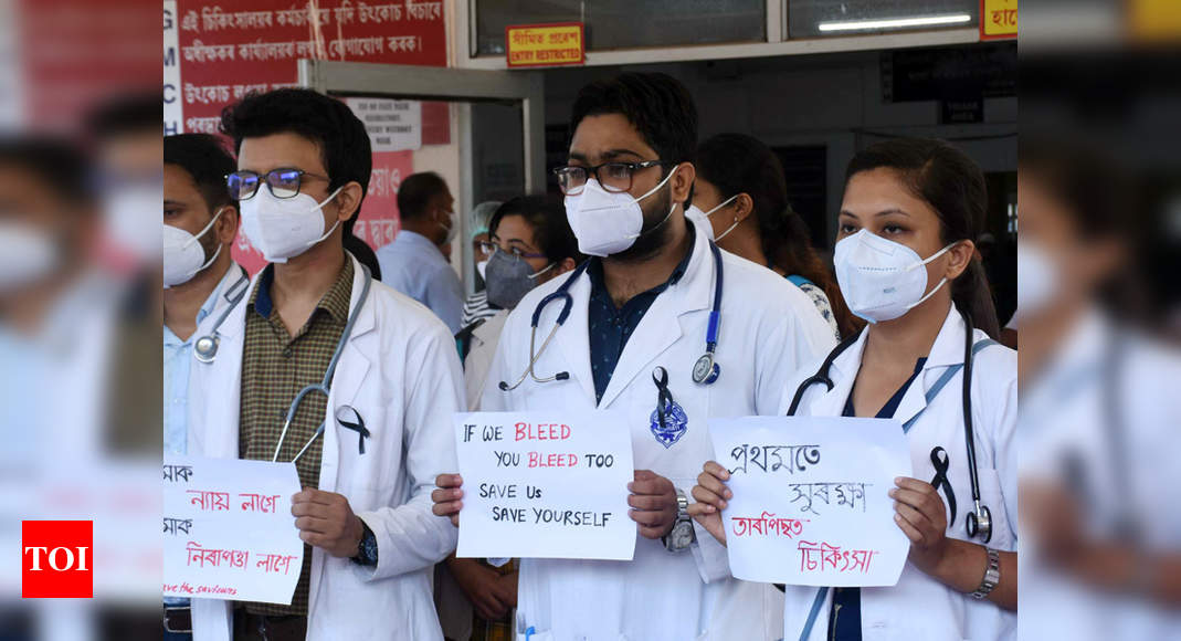 Centre asks states to register FIRs against those involved in assault on doctors | India News – Times of India