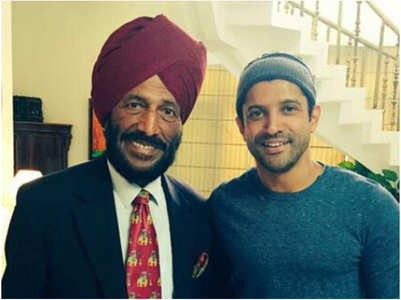 Farhan on his first meeting with Milkha Singh