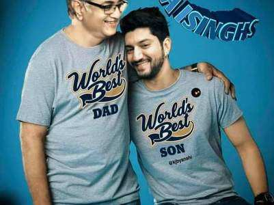 Kunal excited to be in Mumbai with his father