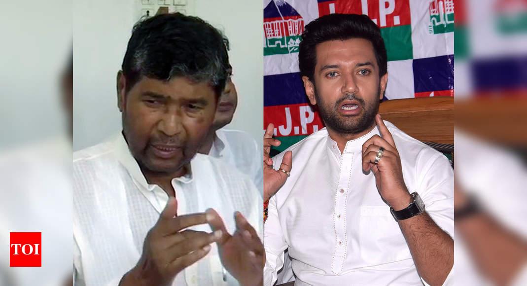 LJP vs LJP: Paras faction announces new national executive; Chirag meets LS Speaker Om Birla   India News – Times of India