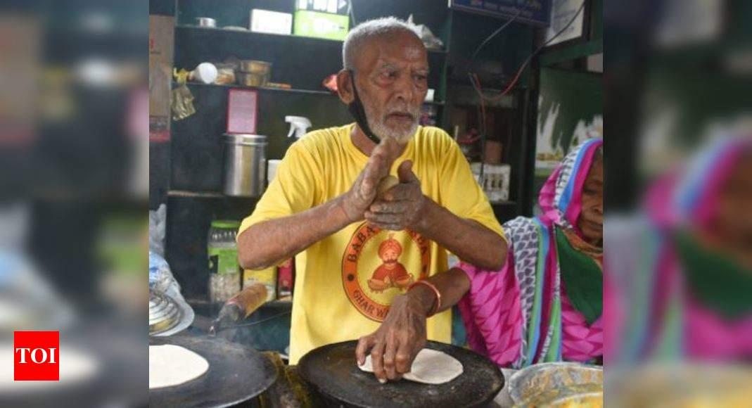 Photo of Delhi's 'Baba ka Dhaba' owner Kanta Prasad critical but stable | Delhi News
