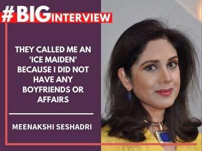 #BigInterview! Meenakshi Seshadri on her journey
