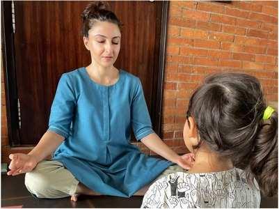 Soha: Yoga helps to keep my mind rejuvenated