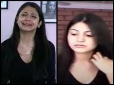 Anushka's video from acting class goes viral