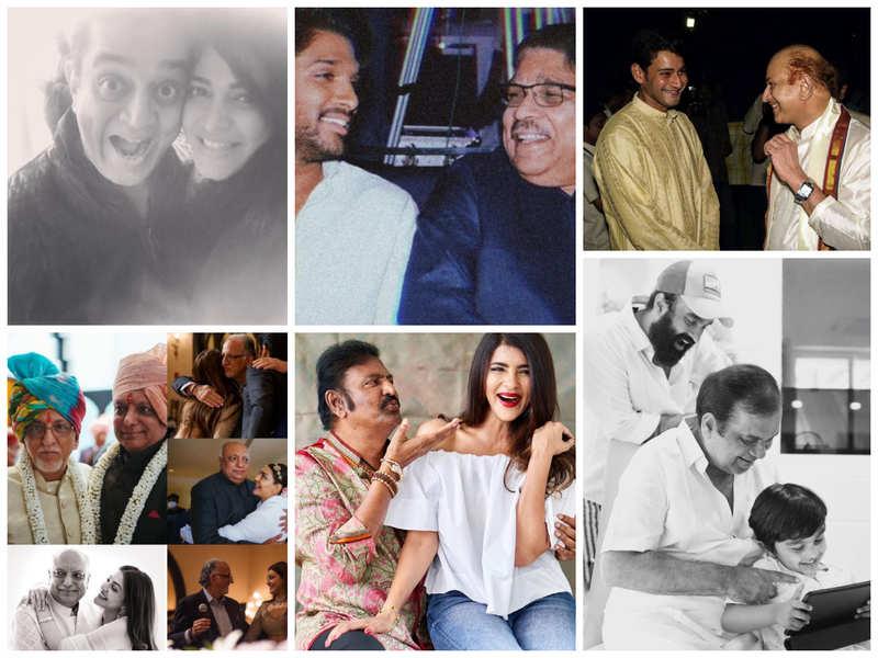 From Mahesh Babu and Allu Arjun to Shruti Haasan and Kajal Aggarwal: Tollywood celebrates Father's Day