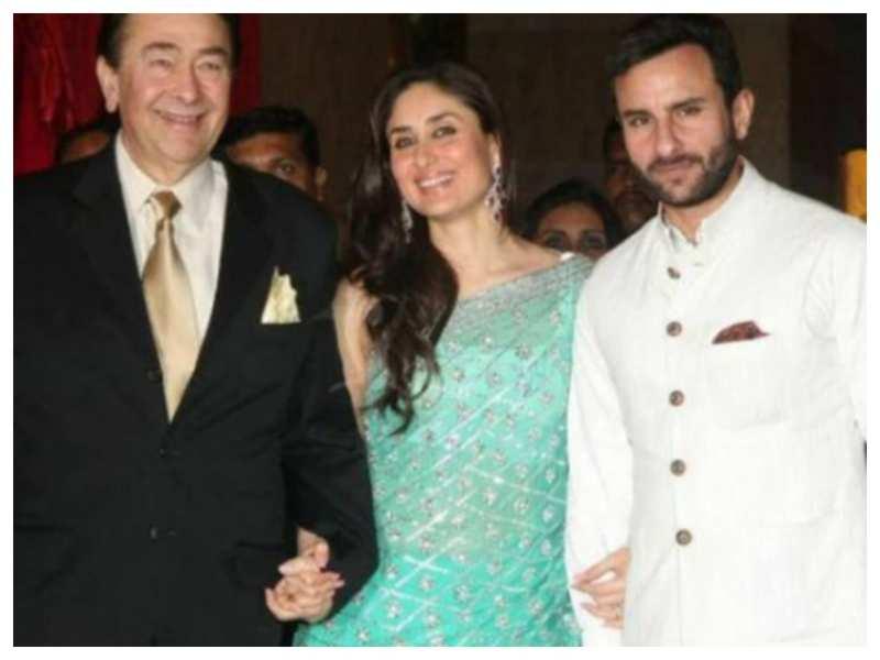Father's Day 2021: Kareena Kapoor Khan shares a picture with Saif Ali Khan and Randhir Kapoor; calls them 'Superheroes'
