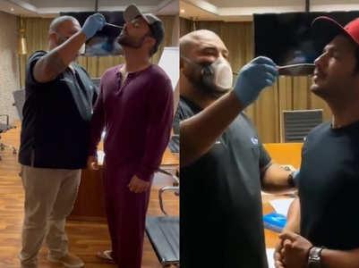 KKK11: Rahul and Arjun take COVID test