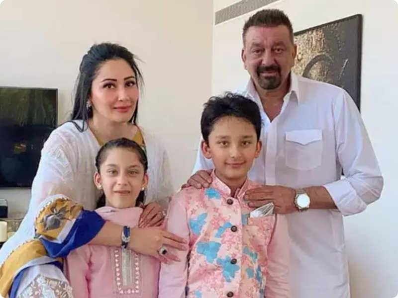 Sanjay Dutt returns to Dubai to be with Maanayata Dutt and kids-Exclusive!