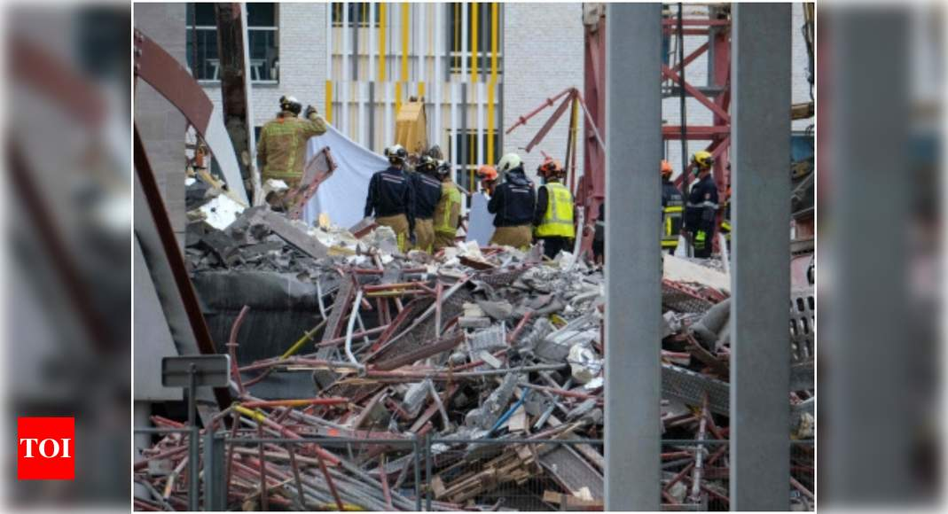 5 killed in school construction site collapse in Belgium – Times of India -India News Cart