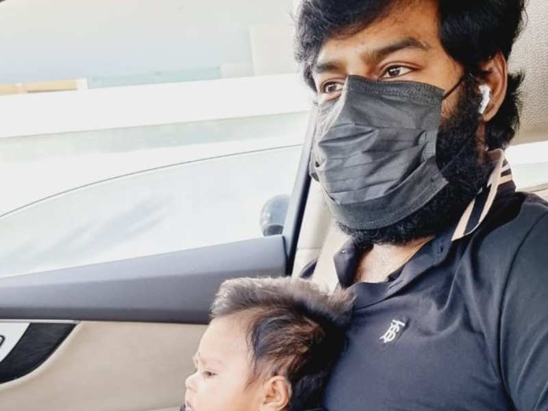 RK Suresh reveals his newborn daughter Isharya's first picture on Father's day 2021