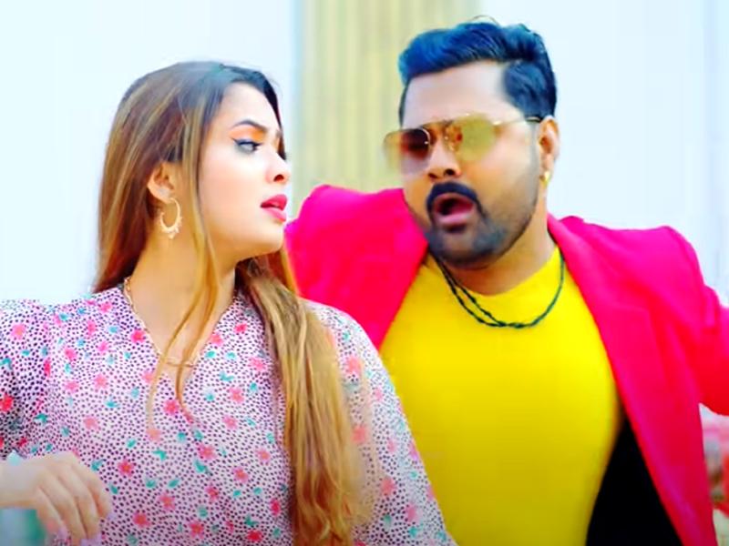 Samar Singh and Neelam Giri's new song 'Lagelu Jaan Maar Ho' is out!