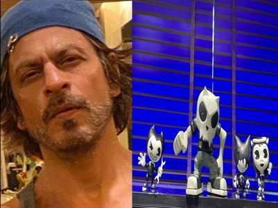 SRK sends out wishes on Father's Day