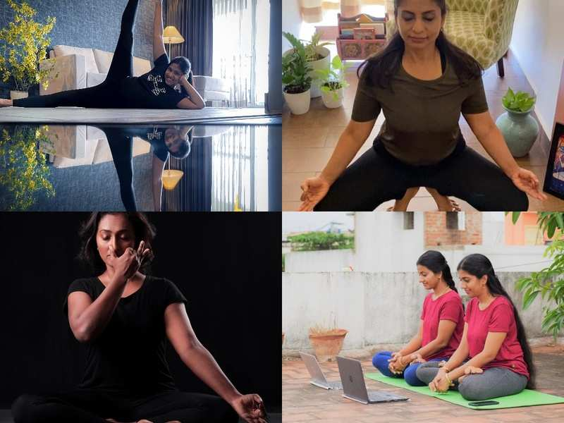 How the yoga world is coping with going digital in pandemic