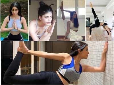 Celebs on International Yoga Day, 2021