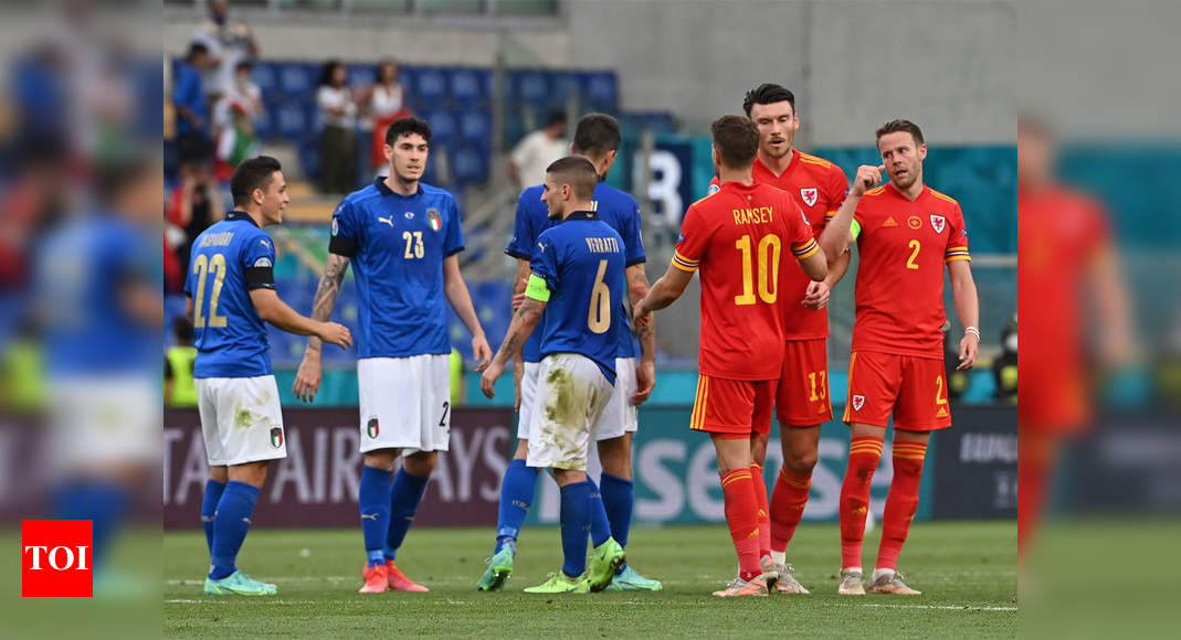 Euro 2020: New-look Italy beat Wales as both teams advance to last 16 | Football News – Times of India