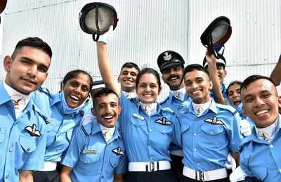 J&K's Mawya Sudan 12th woman to get into IAF's fighter stream | India News  - Times of India