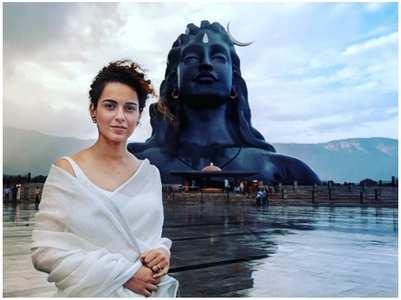 Kangana thanks Lord Shiva for Yoga