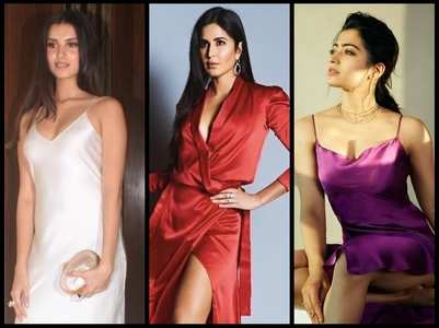 Divas who personified hotness in satin dresses