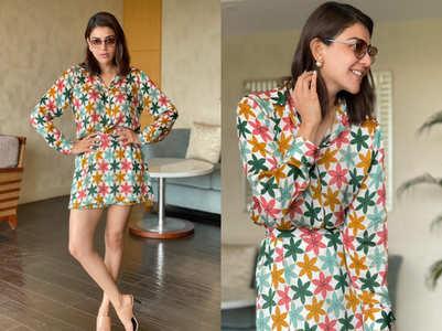 Kajal Aggarwal raises her style stakes