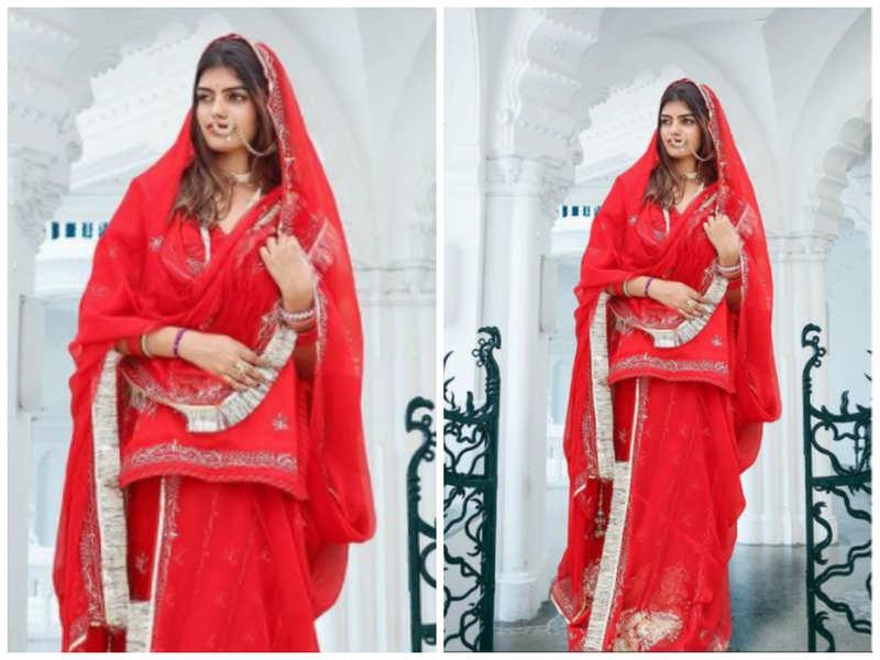 Prachi Singh looks regal in this traditional attire