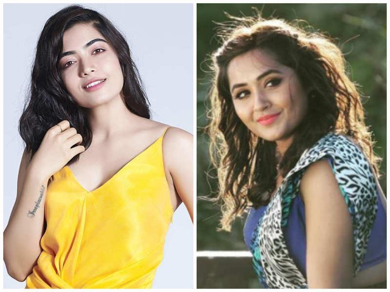 Kajal Raghwani shares a motivational video of Telugu actress Rashmika Mandanna