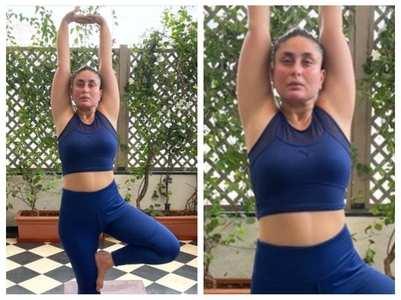 Kareena on 'getting back' on yoga journey