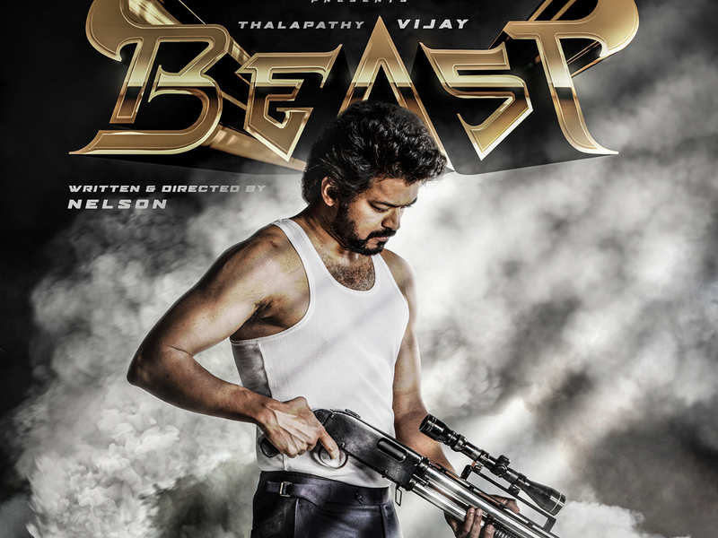 Thalapathy 65 first look: Vijay's film with Nelson Dhilipkumar titled 'Beast'