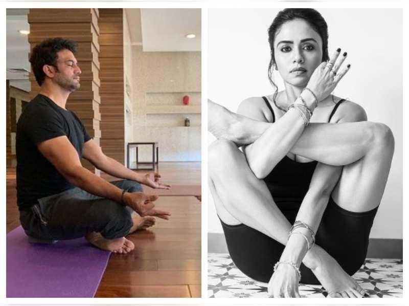 International Yoga Day 2021! Amruta Khanvilkar, Sonalee Kulkarni and other Marathi celebs share inspirational posts