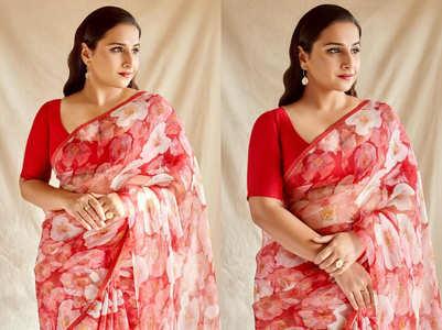 Guess the price of Vidya Balan's sari