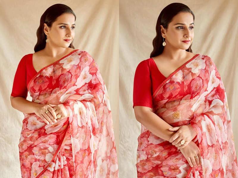 Can you guess the price of Vidya Balan's made to order sari?