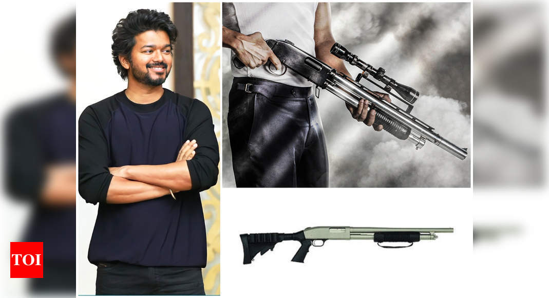 Beast: All about Vijay's gun in 1st poster