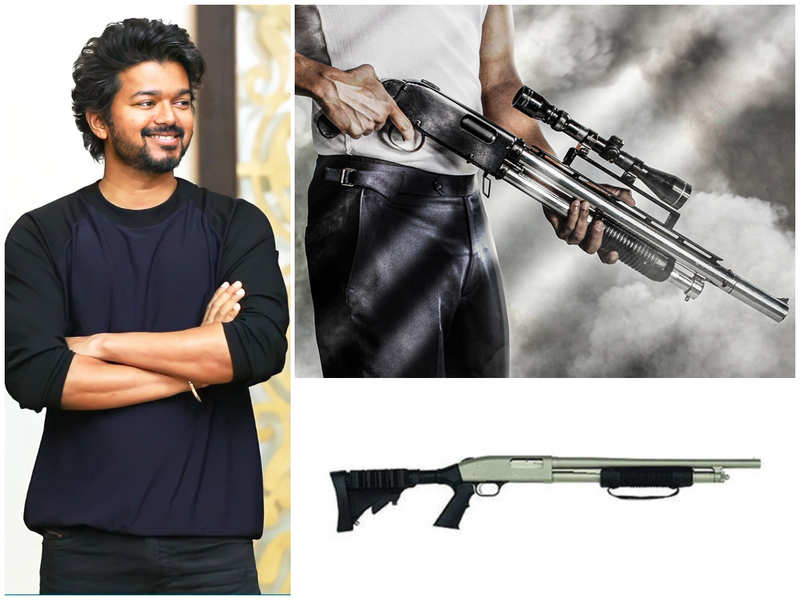 #Beast: All about Vijay's gun in Thalapathy65  first-look poster