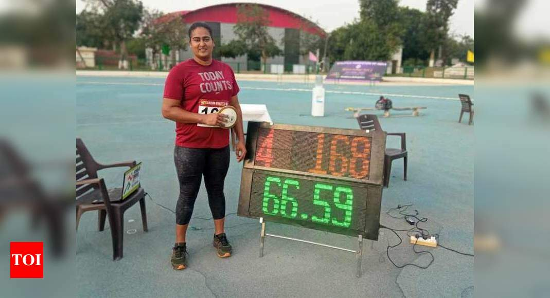 Tokyo-bound discus thrower Kamalpreet improves her own national record
