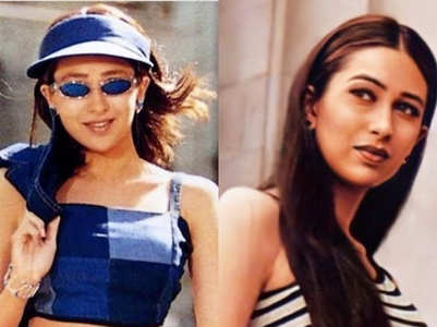 Karisma is the ultimate '90s fashionista