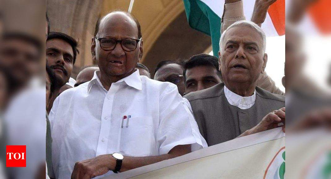 Sharad Pawar, Yashwant Sinha call meet to put up united opposition