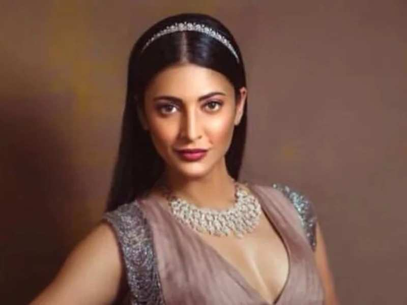 Shruti Haasan excited to return back to sets after Lockdown 2.0
