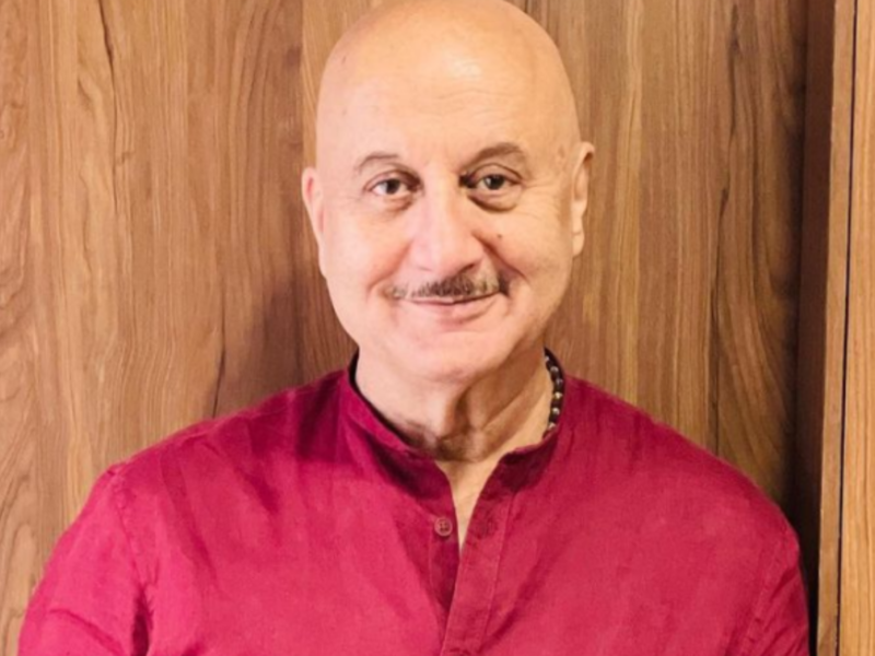 Will never join politics: Anupam Kher