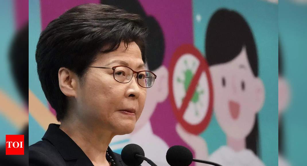 Hong Kong leader says press must not 'subvert' government thumbnail