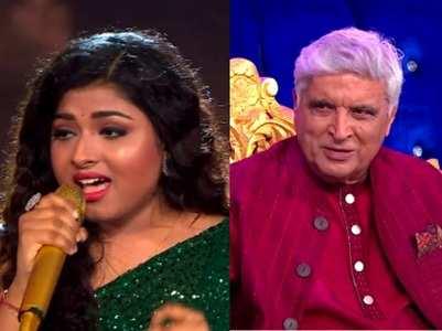 Javed says Arunita reminds him of Lata Ji