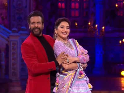 DD 3: Jaaved-Madhuri do 90s dance style