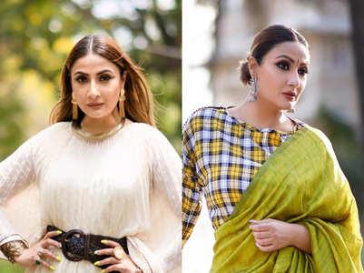 Urvashi impresses with her power dressing