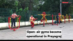 Open- air gyms become operational in Prayagraj