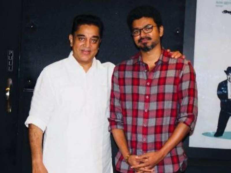 Kamal Haasan wishes Vijay on his 47th birthday; addresses him as 'My dear brother'
