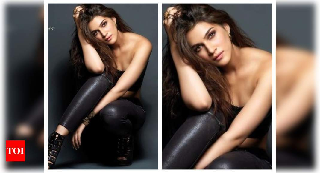Kriti channels inner Catwoman for photoshoot