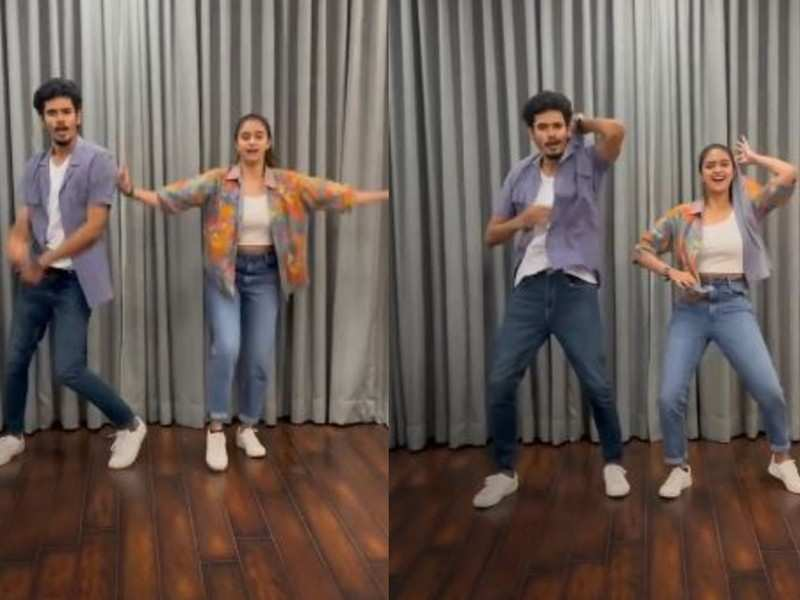 Keerthy Suresh wishes Thalapathy Vijay through a unique dance video; watch here!