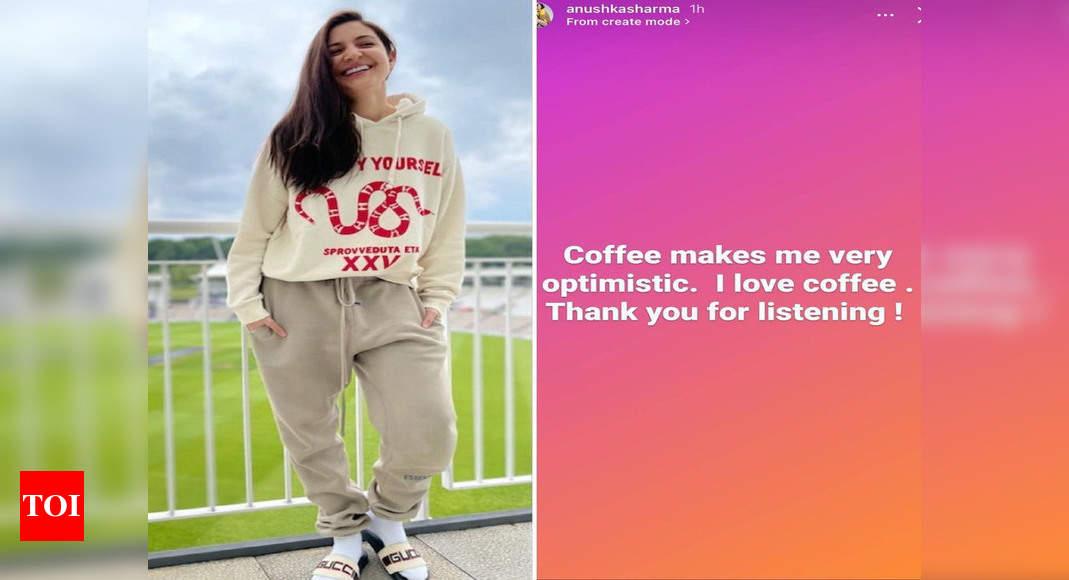 Anushka reveals what makes her optimistic