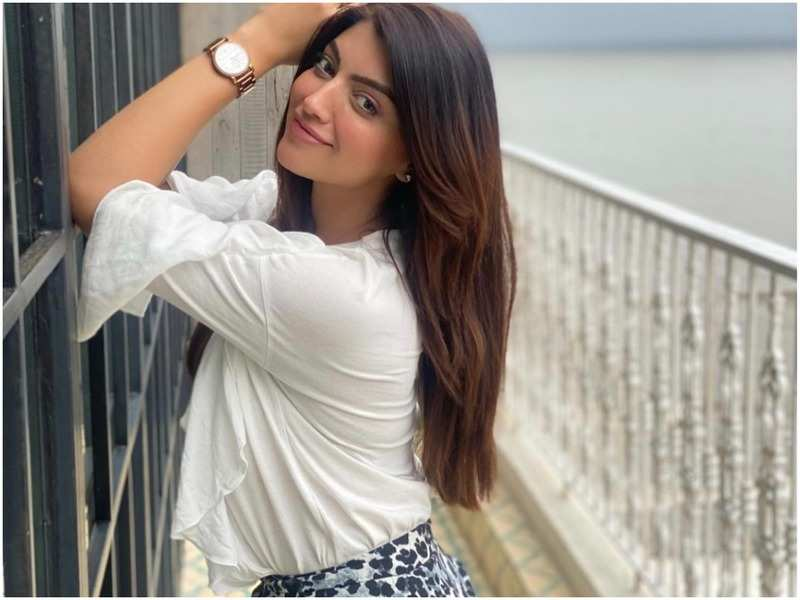 Akanksha Puri is happy to be back in the mountains after the lockdown